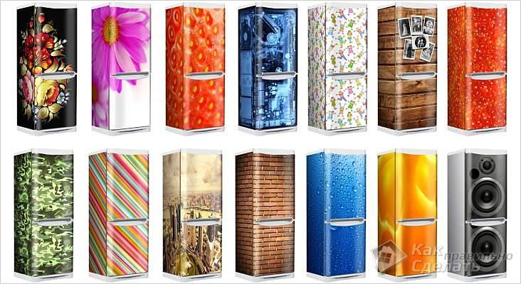 Креативные холодильники