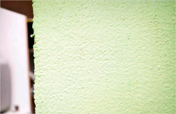 Готовый результат на стене