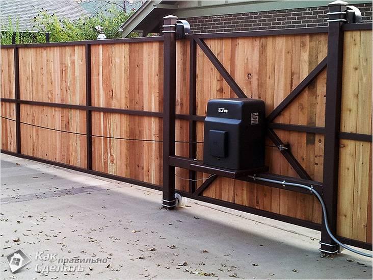 Автоматика откатных ворот