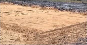 Толстый слой песка предотвратит деформацию плиты