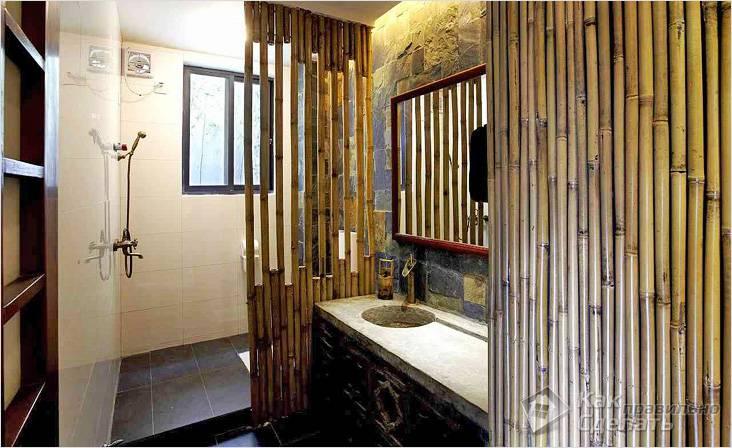 Бамбуковые перегородки