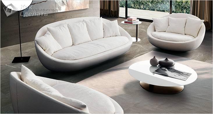 Островной диван