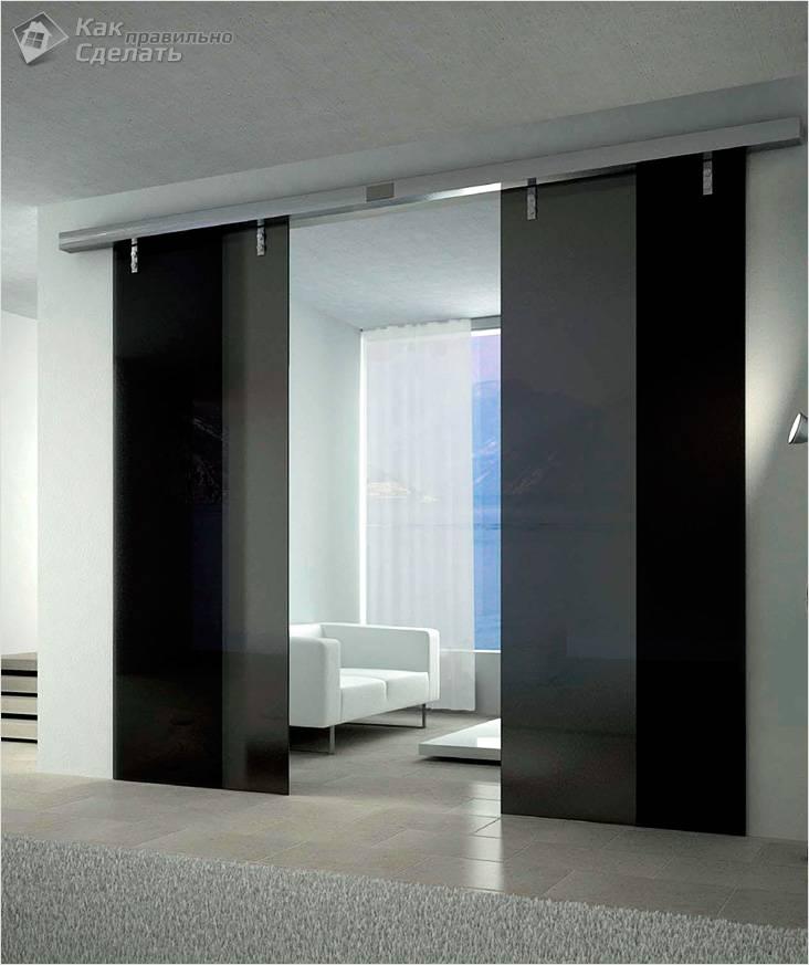Красивые раздвижные межкомнатные двери