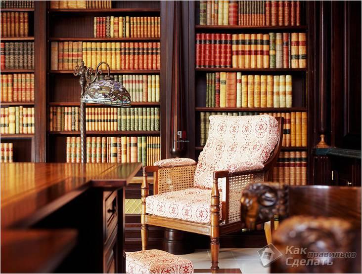 Книги — атрибут викторианского стиля