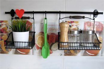Как расположить рейлинги на кухне