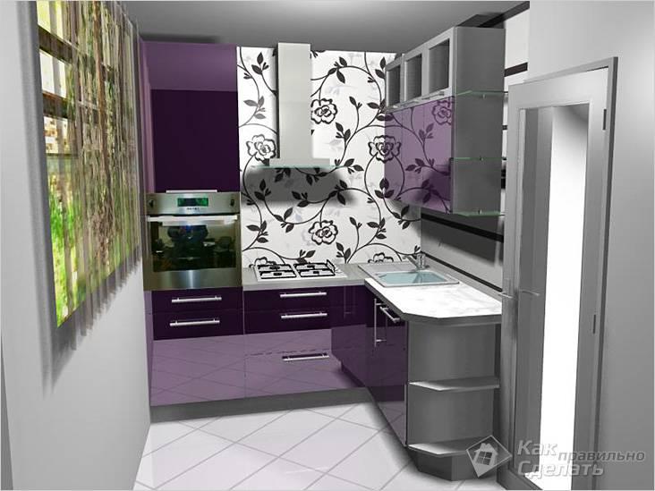 Идеи для дизайна маленькой кухни