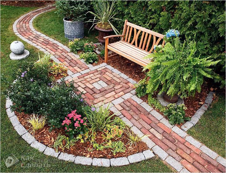 Комбинированные варианты в саду