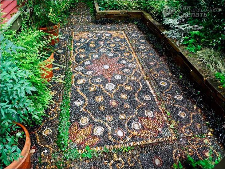 Мозаика из камня