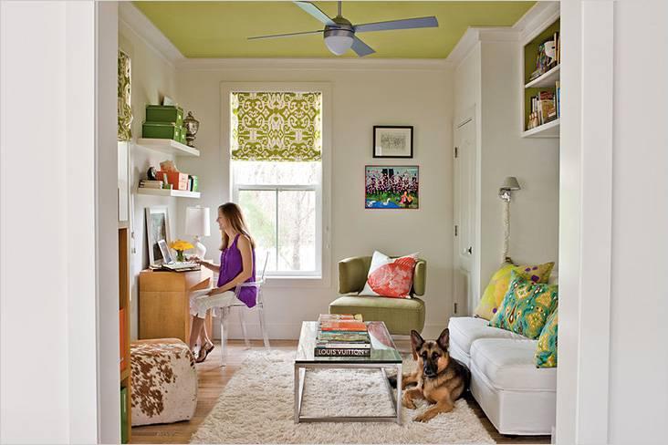Пример маленькой гостиной