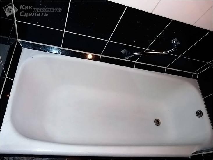 Бордюры для ванны: технология монтажа пластикового и керамического уголка