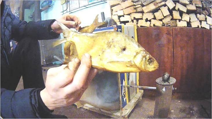 То, что рыба прокоптилась, свидетельствует о том, что коптильня хорошо работает