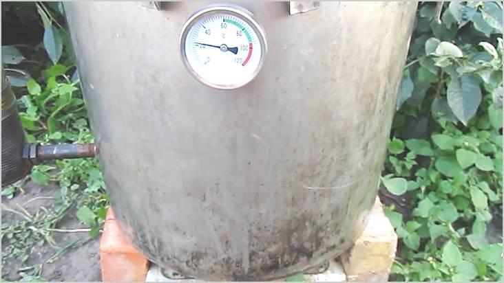 Термометр поможет контролировать процесс копчения