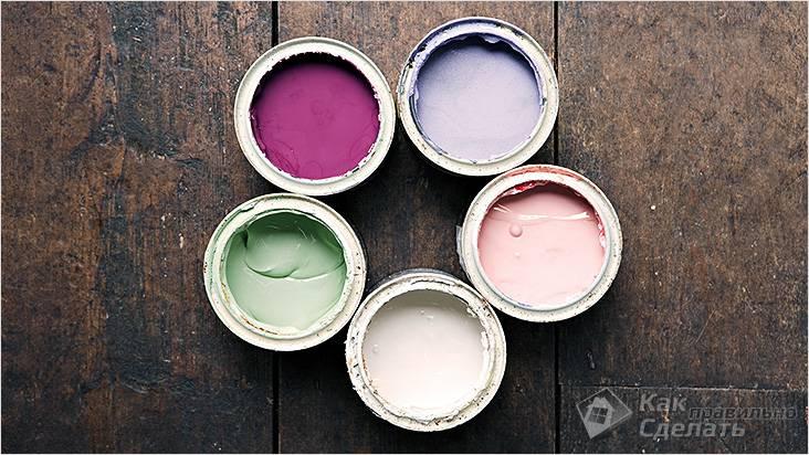 Краска для росписи пола