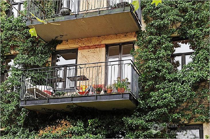 Мини бар на балконе