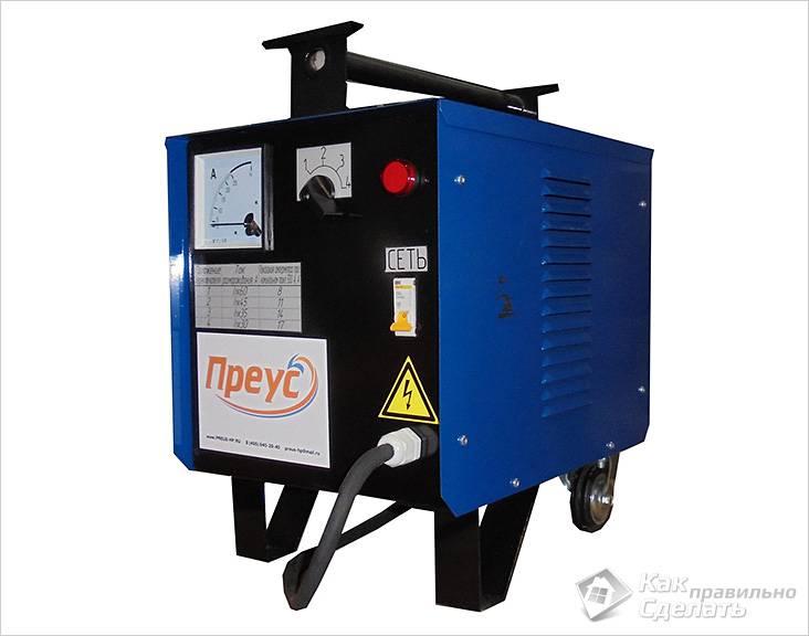 Переносная электрическая установка для разоморозки металлических труб