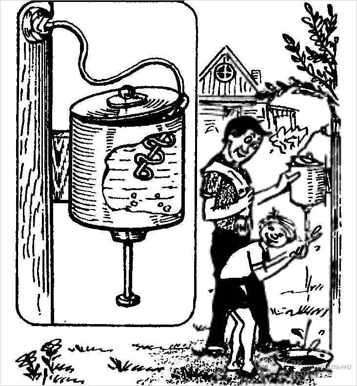Рукомойник для дачи