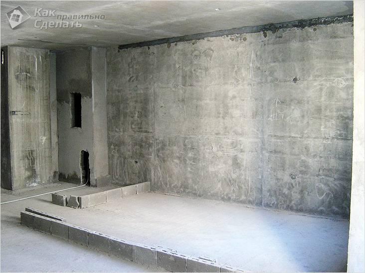 Ищем несущую стену в монолитном доме