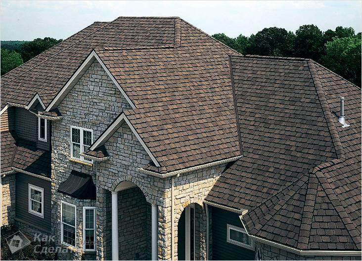 Красивая многощипцовая крыша