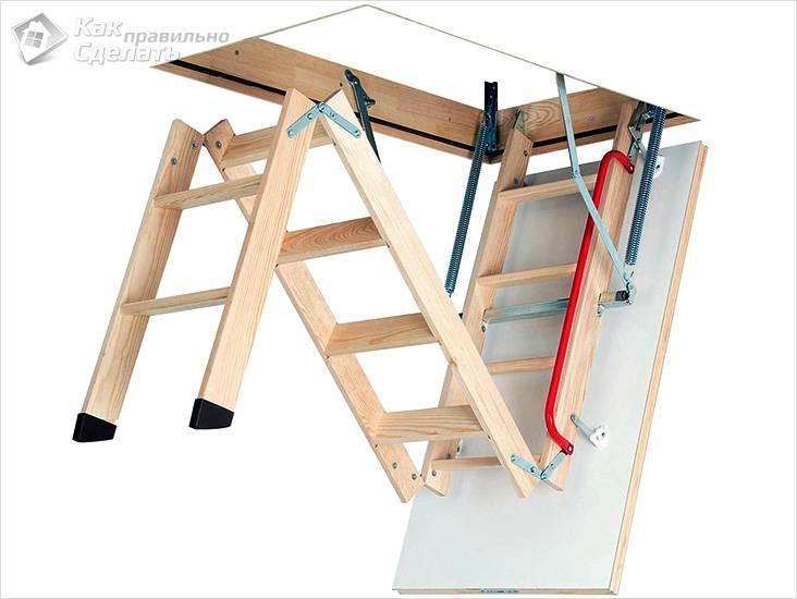 Изготовление складной лестницы на тетивах
