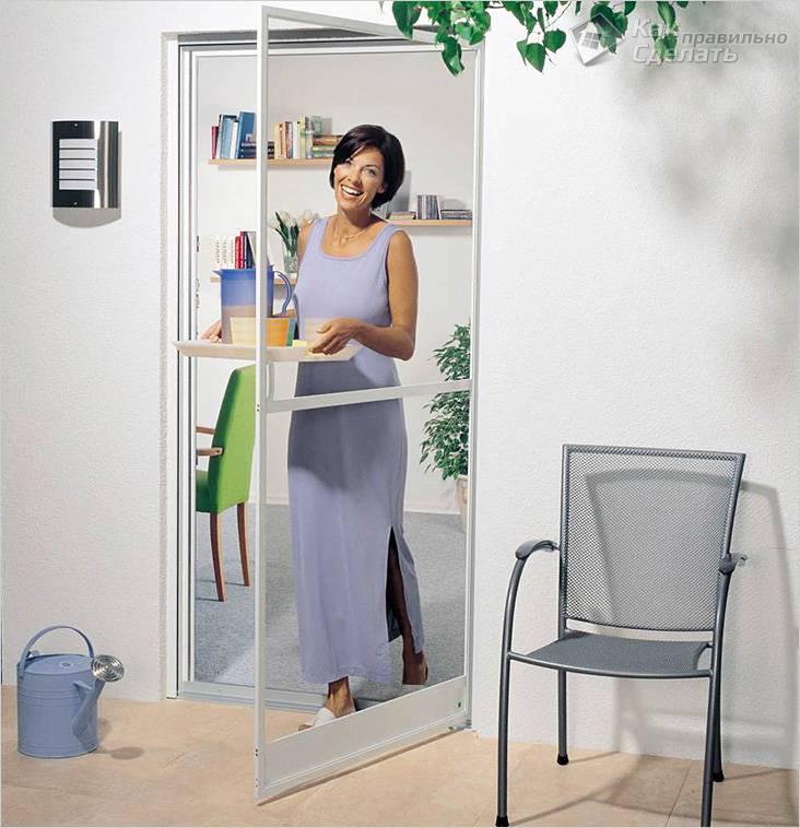 Рамочная распашная дверь