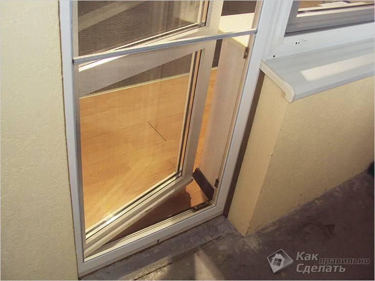 Сетка на двери