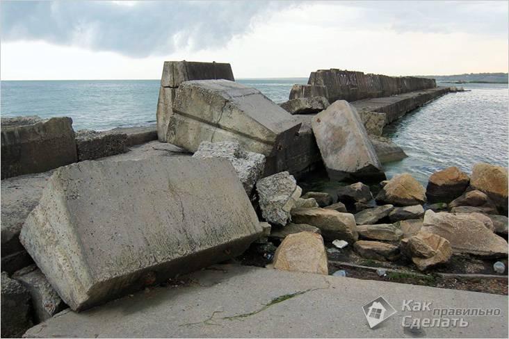 Камень не боится воды