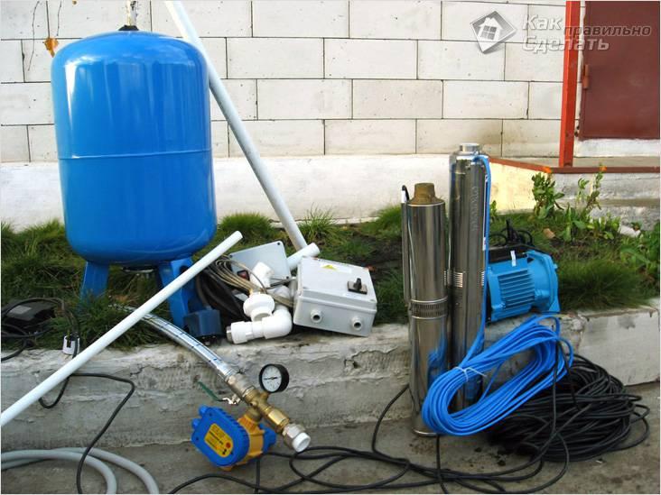 Что нужно для водоснабжения