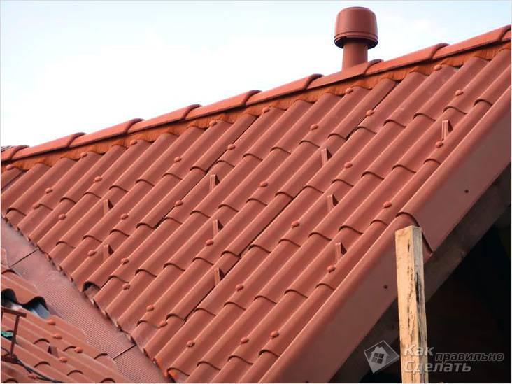 Снегостопоры на крыше