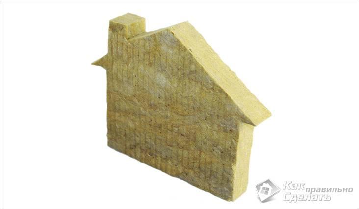 Фасадная минеральная вата