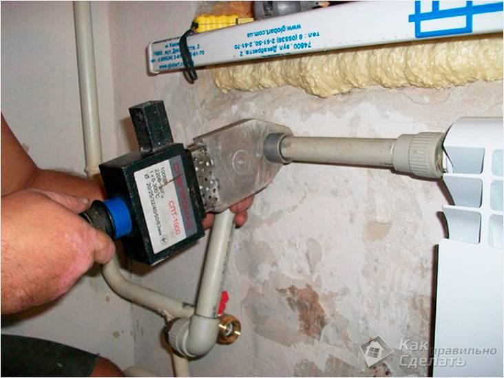 Установка системы отопления своими руками