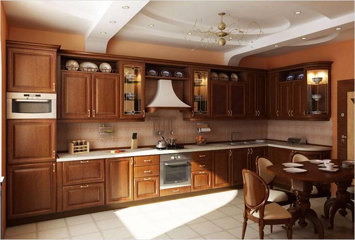 Элегантная классическая кухня