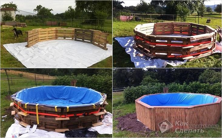 Многообразие деревянных бассейнов
