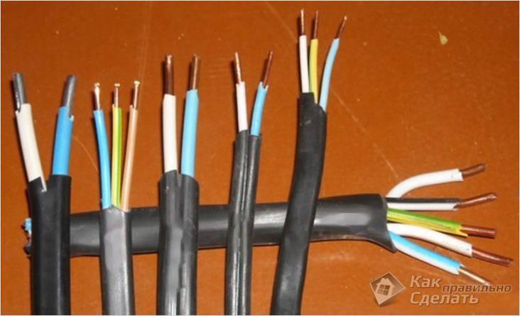 Важно правильно подобрать кабель
