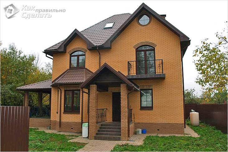Сколько стоит построить кирпичный дом - стоимость строительства