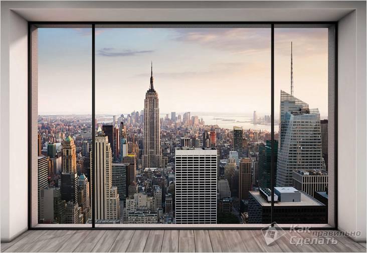 Фальш-окно Нью-Йорк