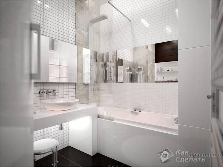 Как правильно сделать ванную комнату