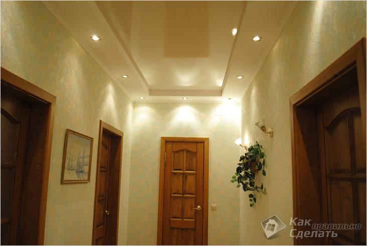 Светодиодная подсветка коридора