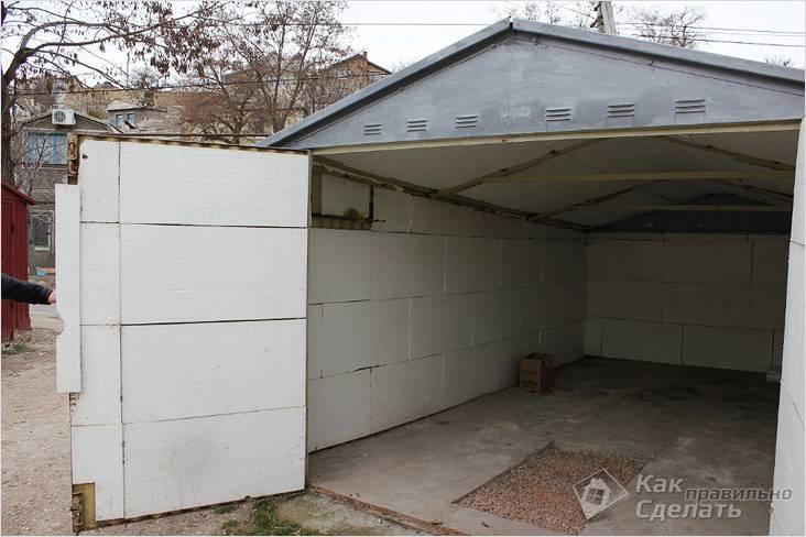 Ворота для гаража своими руками чертежи фото