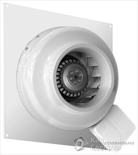 Вытяжной канальный вентилятор