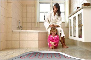 Как утеплить пол в ванной