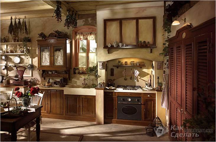 Этно стиль на кухне