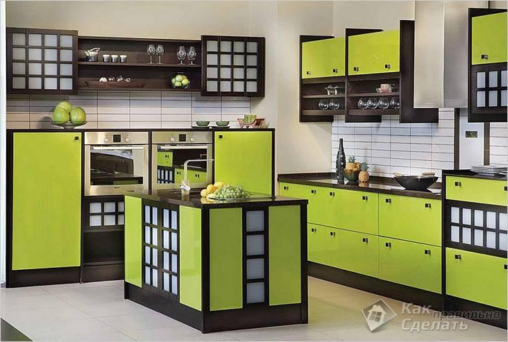 Мебель для кухни в японском стиле