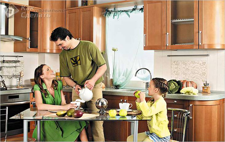 uyutnaya-kuhnya Декор кухни своими руками: фото и идеи