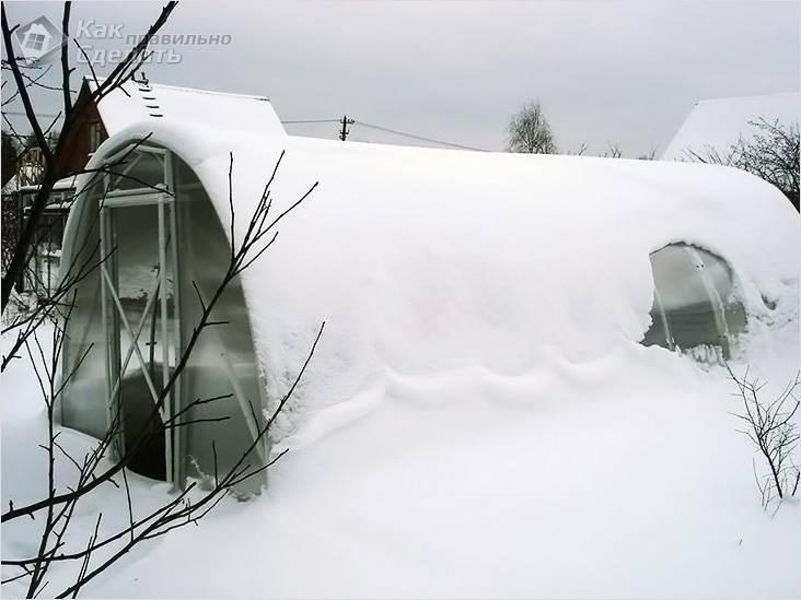 Зимняя теплица