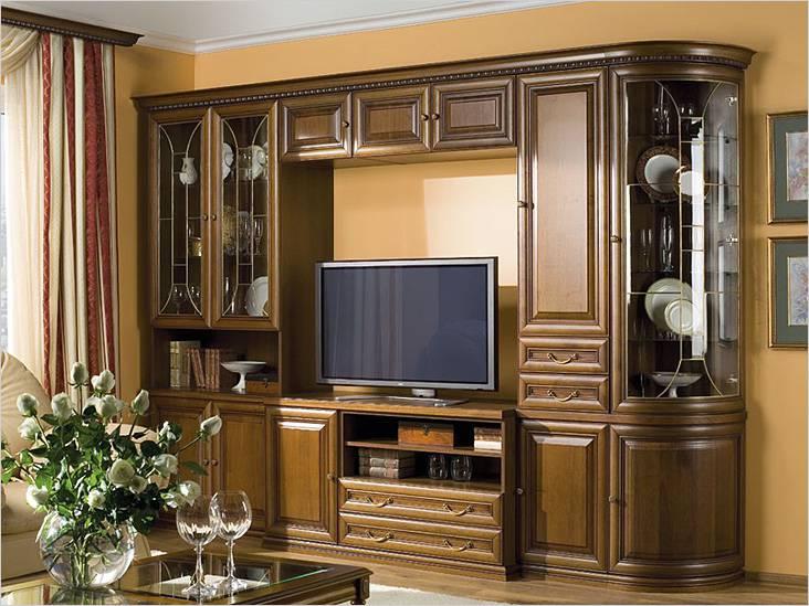 Модульная мебель в маленькой гостиной