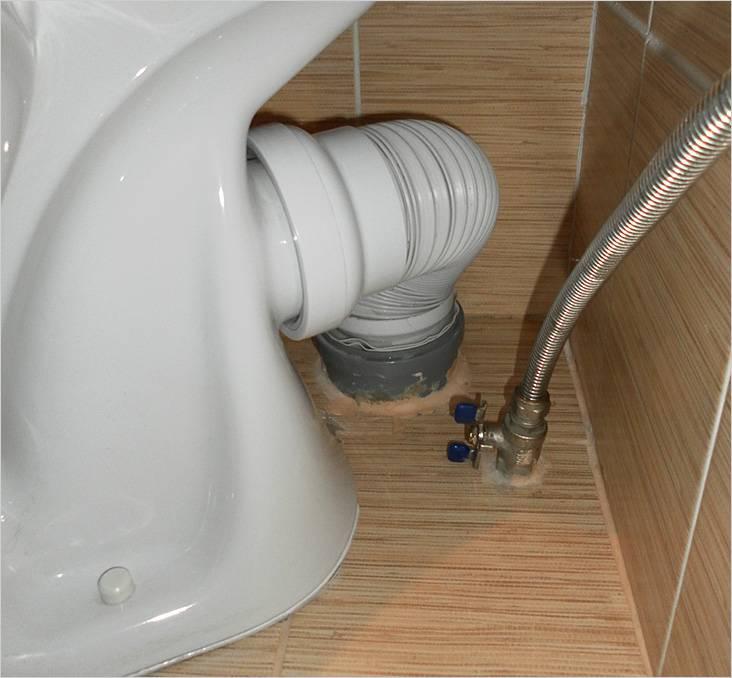 Выход канализации с пола