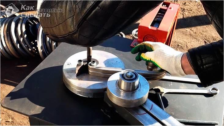 Изготовление станка для холодной ковки своими руками