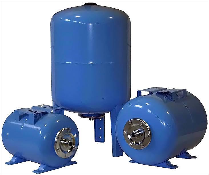 Гидроаккумуляторы к насосной станции могут иметь разный объем вместительности