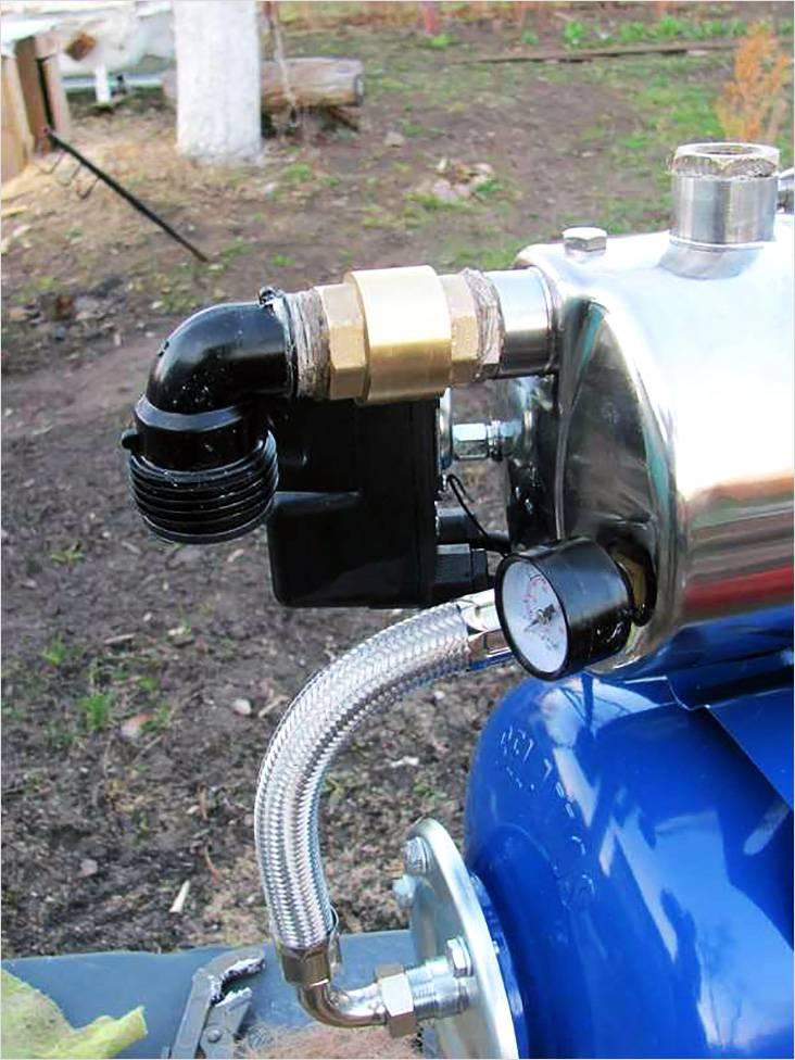 Обратный клапан для насосной станции