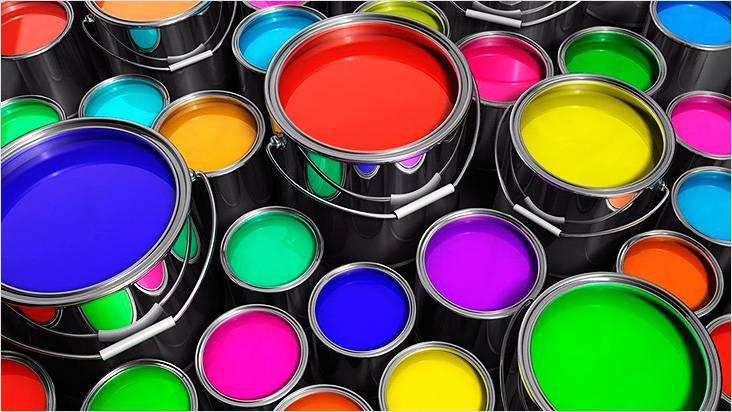 Щебень можно окрасить в любой желаемый цвет